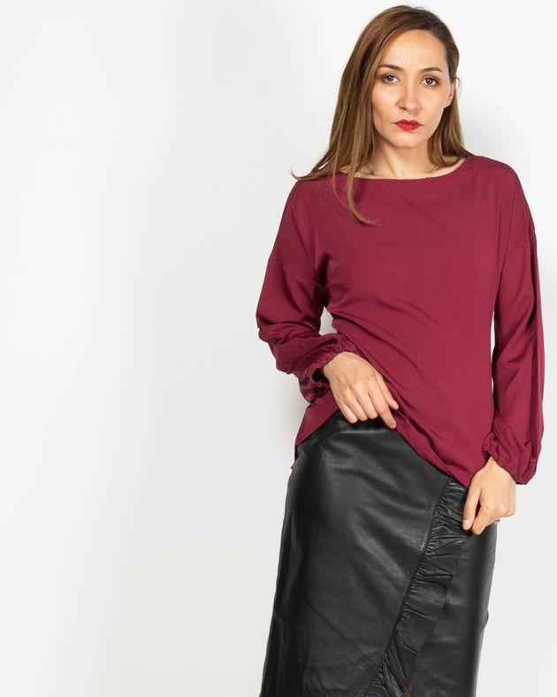 Bluza-eleganta-cu-maneca-lunga-si-cordon-la-spate-N91913043