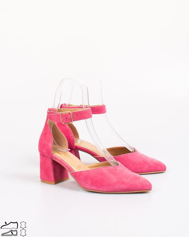 Pantofi-decupati-din-piele-naturala-cu-toc-si-barete-cu-catarama
