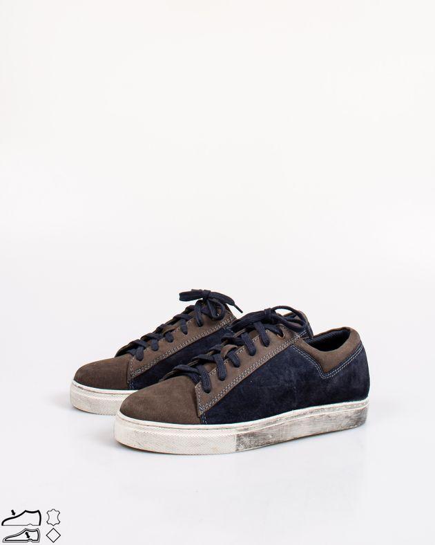 Pantofi-sport-din-piele-naturala-cu-siret-si-talpa-groasa