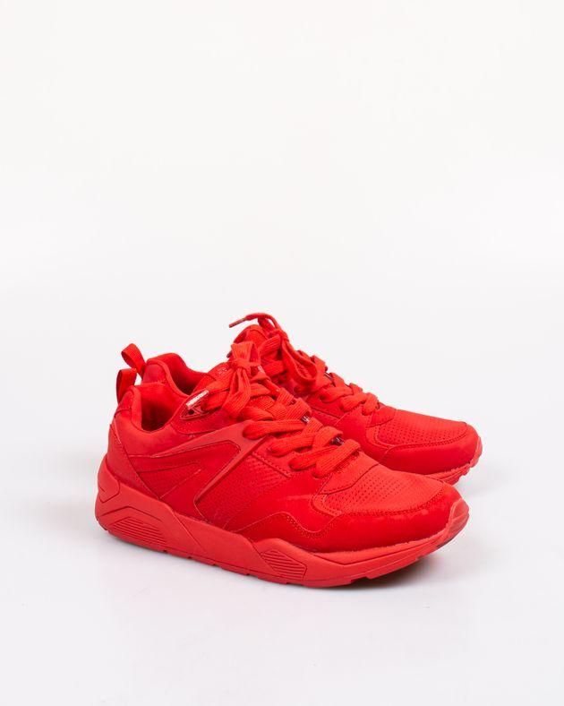 Pantofi-sport-perforati-cu-siret-si-talpa-groasa