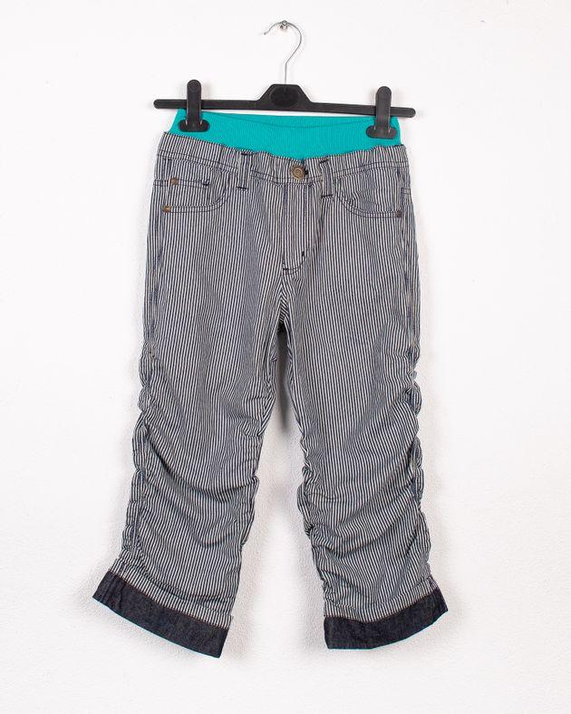 Pantaloni-copii-din-bumbac-cu-talie-elastica-si-dungi