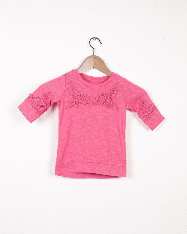 Bluza-copii-din-bumbac-cu-maneca-trei-sferturi
