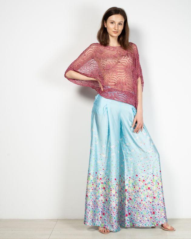 Pantaloni-Axel-evazati-cu-buzunare-si-imprimeu-floral