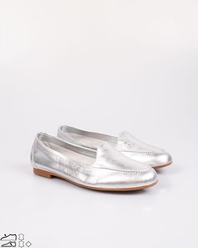 Pantofi-din-piele-naturala-metalizati-cu-talpa-joasa