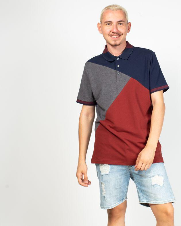 Tricou-barbati-din-bumbac-cu-mix-de-culori