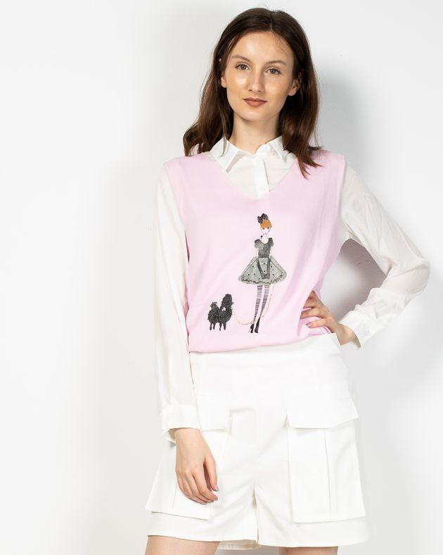 Bluza-Axel-subtire-tricotata-cu-imprimeu