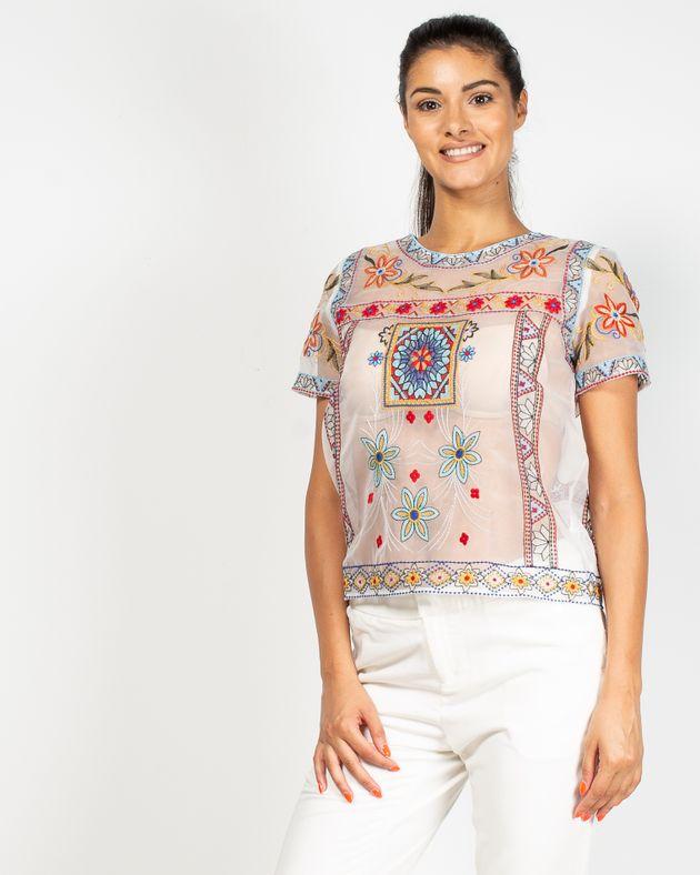 Bluza-Axel-transparenta-cu-imprimeu-brodat-cusut-manual