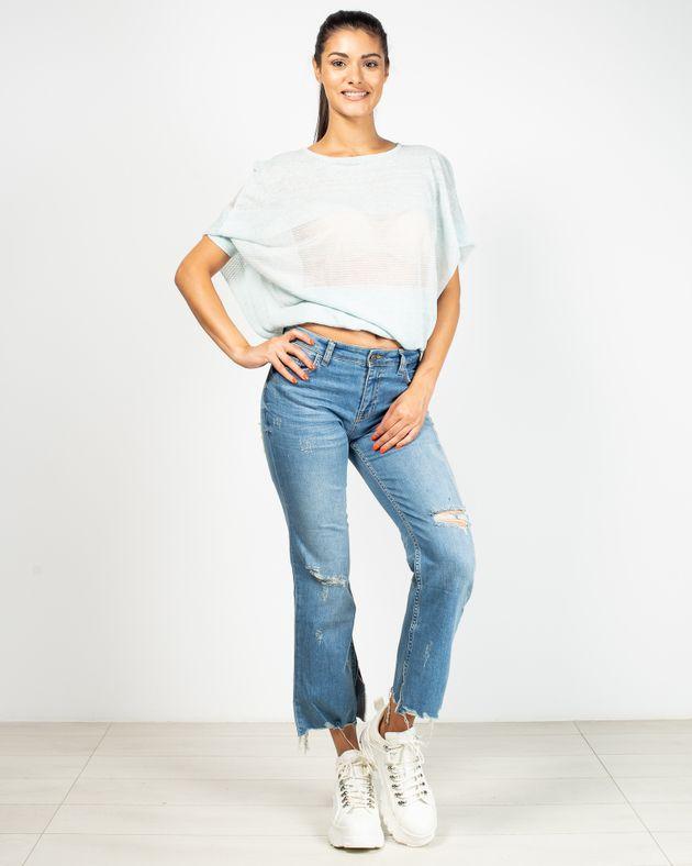 Jeans-evazati-cu-buzunare