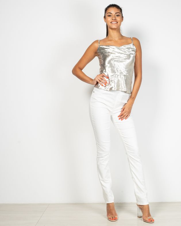 Pantaloni-Axel-cu-fermoar-lateral-si-talie-elastica