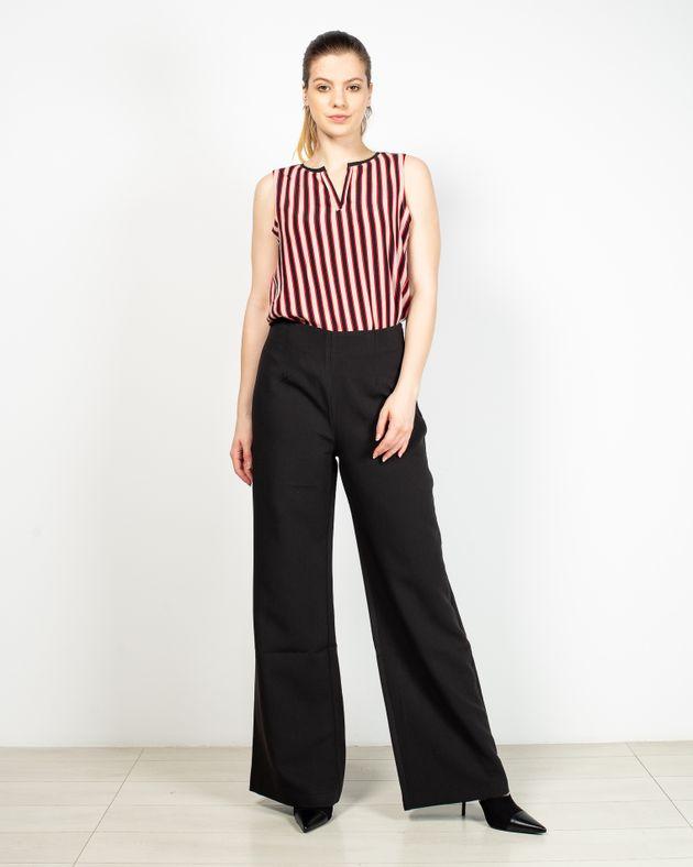 Pantaloni-Axel-evazati-cu-talie-inalta