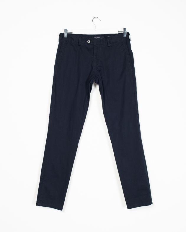 Pantaloni-fit-din-bumbac-cu-buzunare