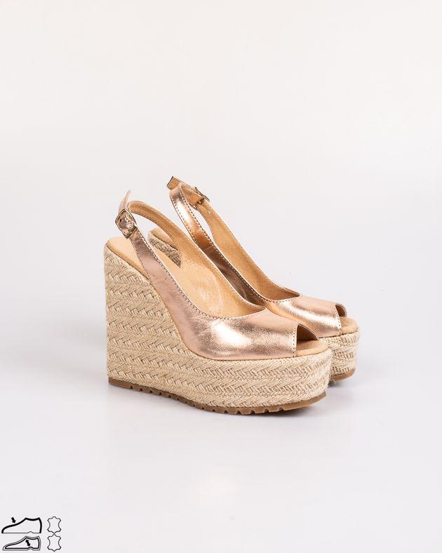 Sandale-din-piele-naturala-cu-platforma-din-iuta-cu-aspect-metalizat