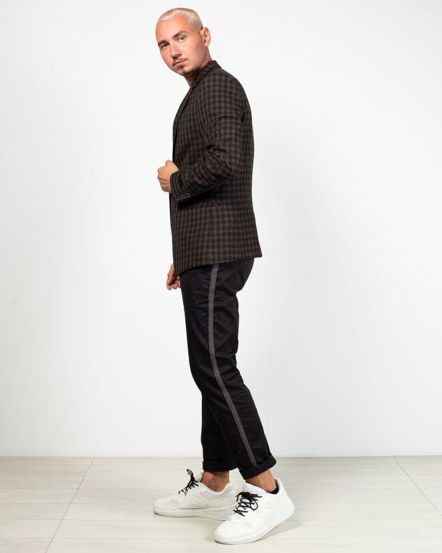 Pantaloni-casual-cu-vipusca-tricotata