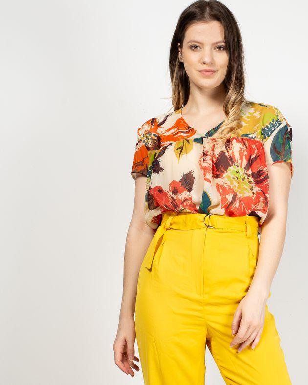 Bluza-transparenta-cu-imprimeu-floral