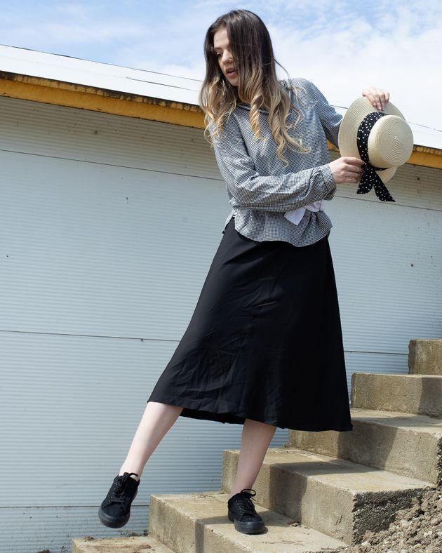 Bluza-casual-in-carouri-cu-anchior