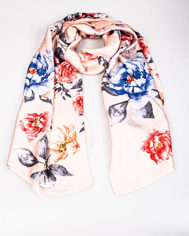 Esarfa-roz-cu-imprimeu-floral