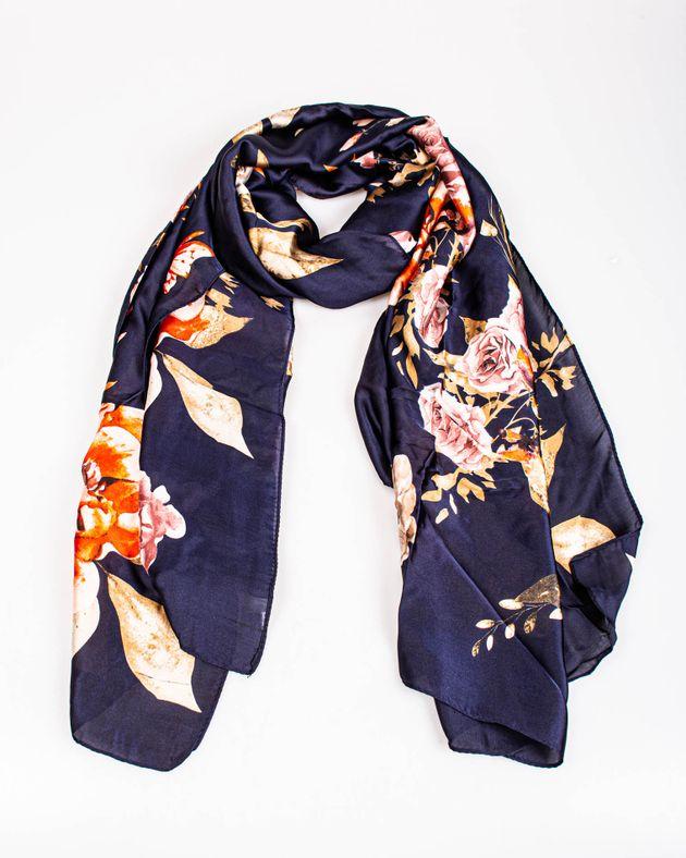 Esarfa-bleumarin-cu-imprimeu-floral