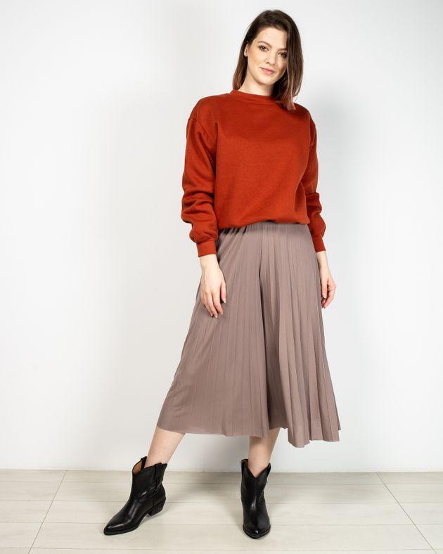 Pantaloni-plisati-trei-sferturi-cu-elastic-in-talie