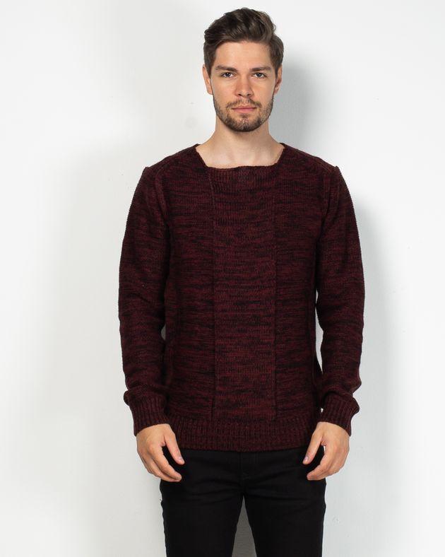 Pulover-tricotat-cu-mnaeca-lunga