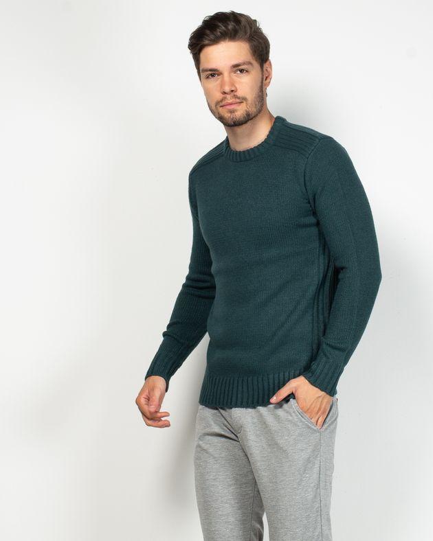 Pulover-tricotat-cu-maneca-lunga-si-guler-rotund