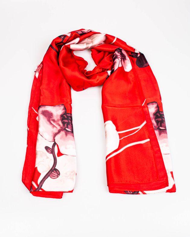 Esarfa-rosie-cu-imprimeu-floral