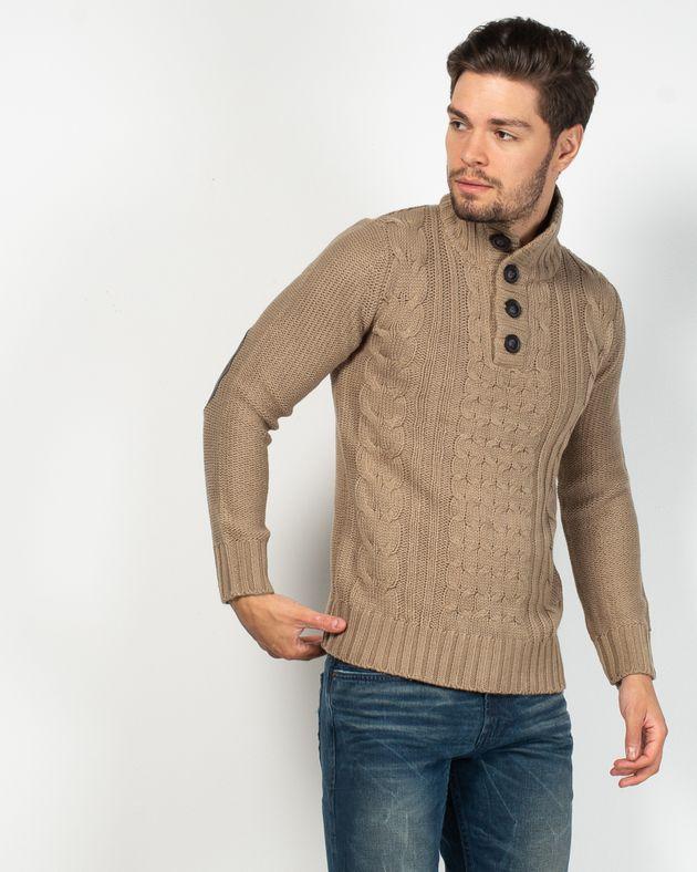 Pulover-tricotat-cu-torsade