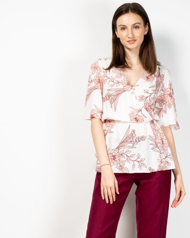 Bluza-cu-imprimeu-floral-si-elastic-in-talie