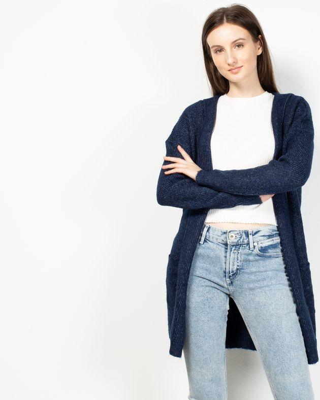 Cardigan-tricotat-cu-buzunare-si-gluga
