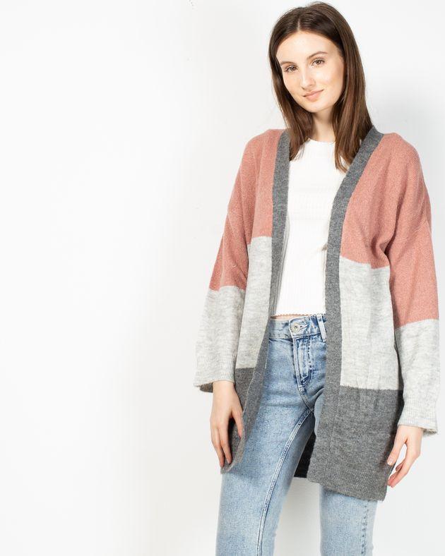 Cardigan-subtire-tricotat
