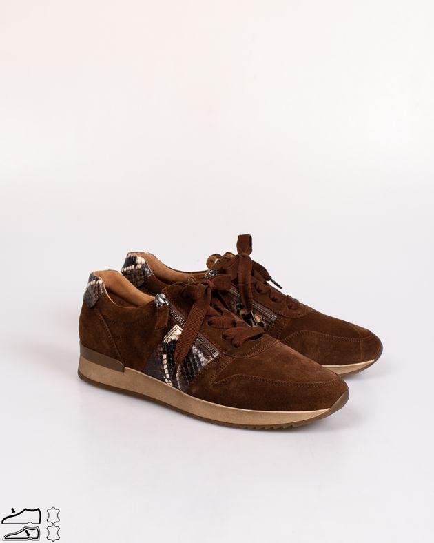 Pantofi-sport-Gabor-din-piele-naturala-cu-fermoare-si-aplicatii-animal-print