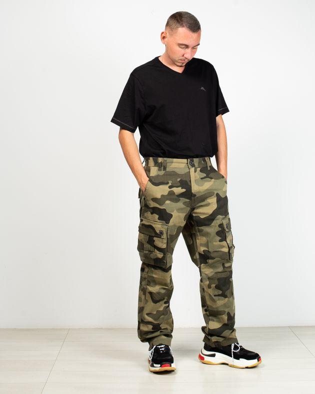 Pantaloni-army-cu-buzunare-si-nasturi
