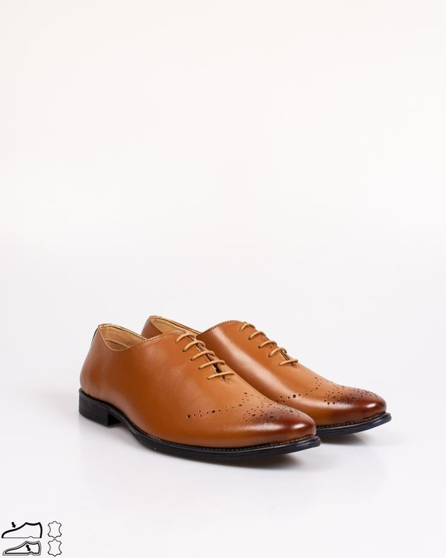 Pantofi-din-piele-naturala-cu-siret-si-model-perforat