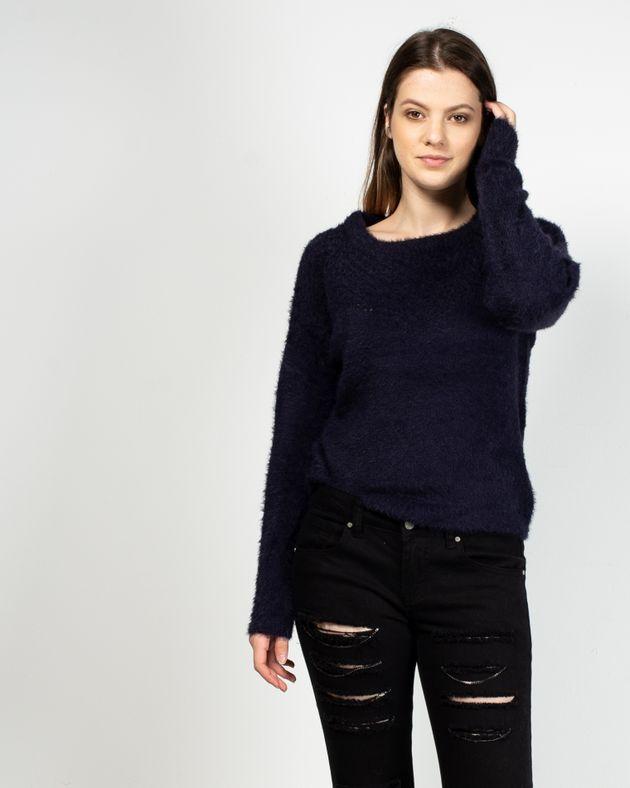 Pulover-scurt-fin-tricotat