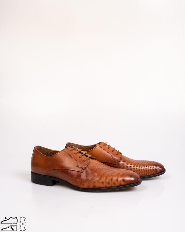 Pantofi-din-piele-naturala-cu-sireturi-si-model-perforat
