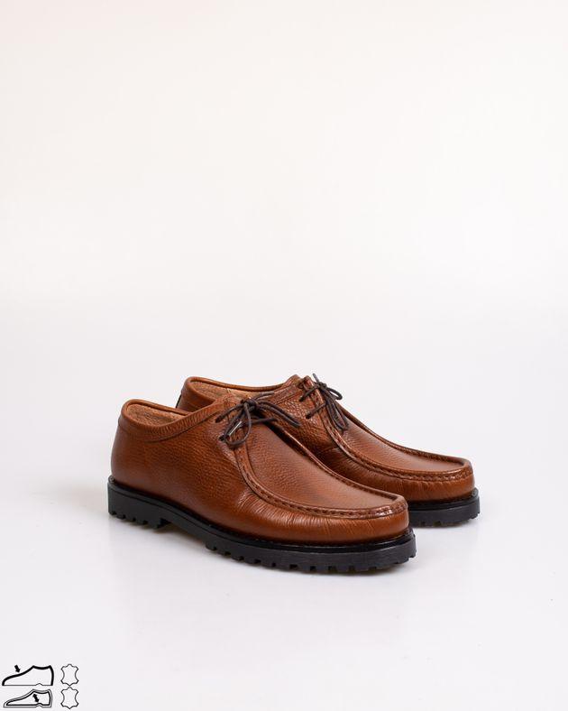 Pantofi-din-piele-ntaurala-cu-siret-si-talpa-groasa