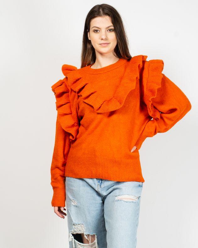 Pulover-tricotat-fin-cu-volane