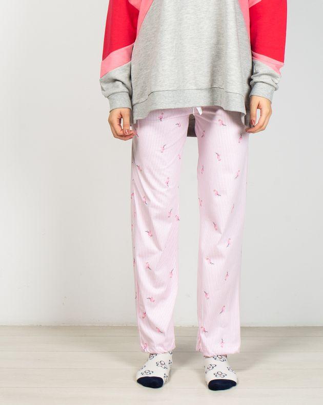 Pantaloni-de-pijama-cu-dungi-si-talie-elastica