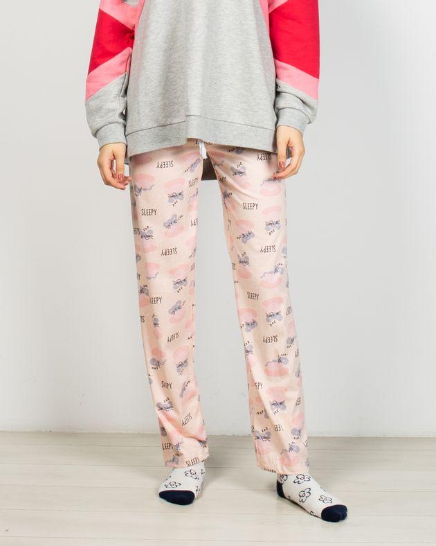Pantaloni-de-pijama-din-bumbac
