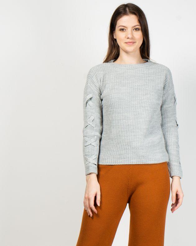 Pulover-scurt-tricotat