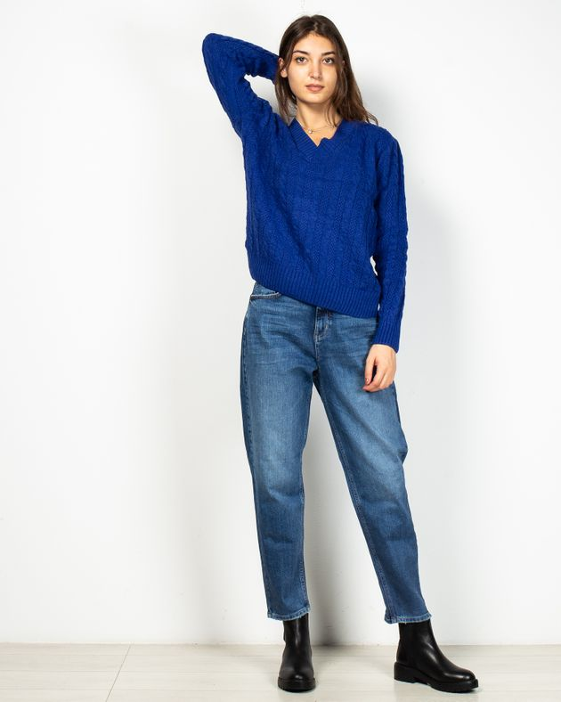 Jeans-din-demin-cu-talie-inalta-si-buzunare