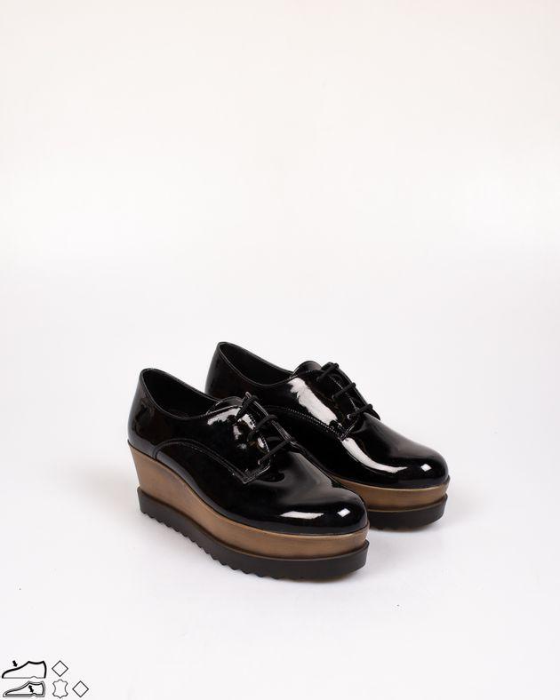 Pantofi-Adams-din-lac-cu-siret-si-talpa-ortopedica