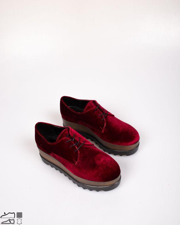 Pantofi-Adams-din-catifea-cu-siret-si-talpa-ortopedica