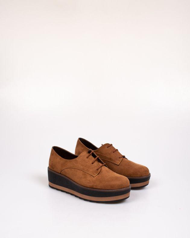 Pantofi-Adams-cu-siret-si-talpa-inalta