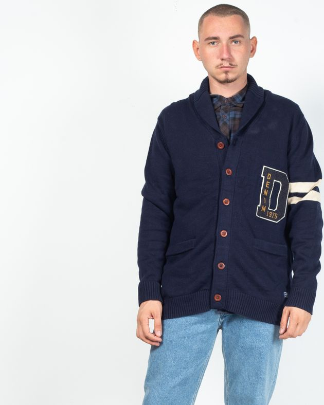 Cardigan-tricotat-din-bumbac-cu-nasturi-si-buzunare