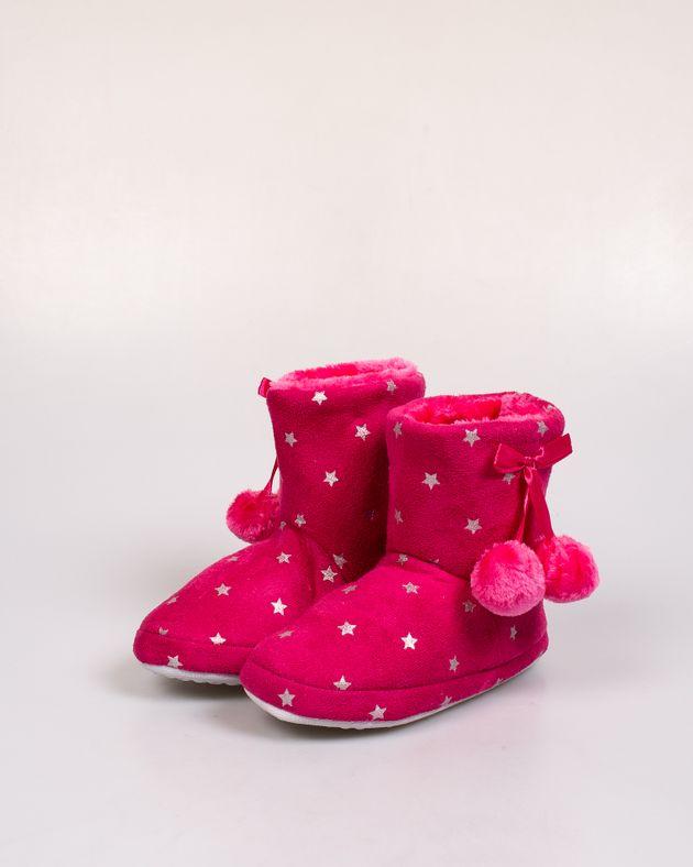 Papuci-de-casa-caldurosi-cu-stelute-si-ciucuri