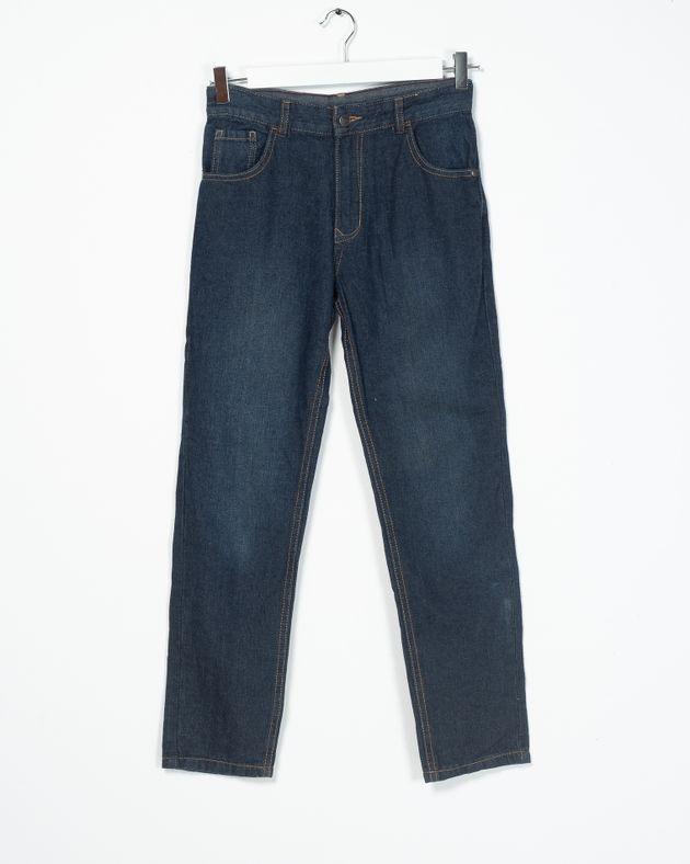 Jeans-din-demin-cu-buzunare