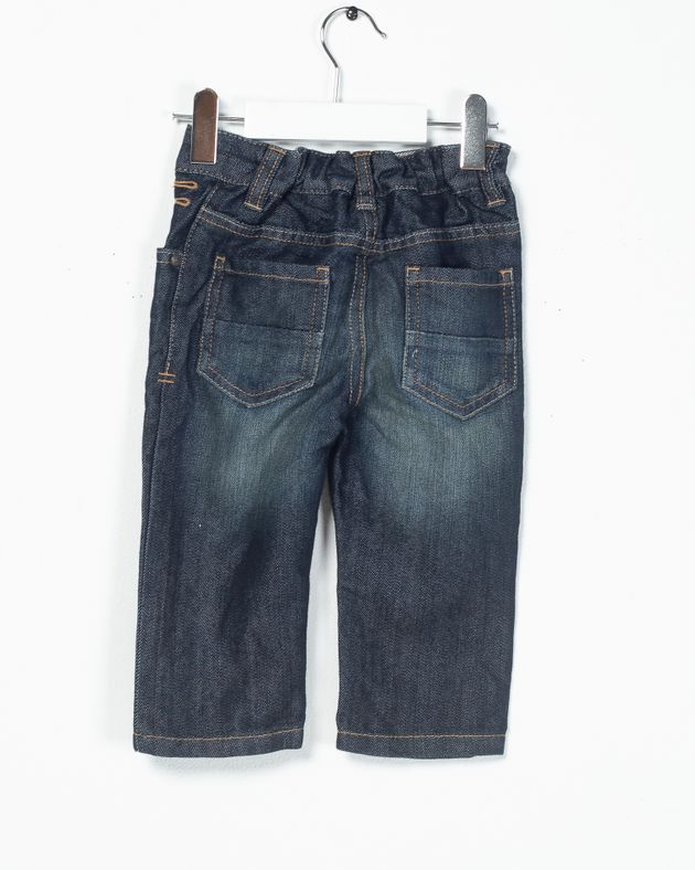 Jeans-cu-buzunare-si-elastic-in-talie-pentru-bebelusi