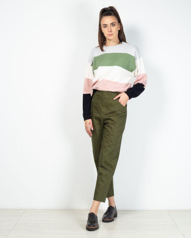 Pantaloni-din-bumbac-organic-cu-buzunare-si-talie-inalta