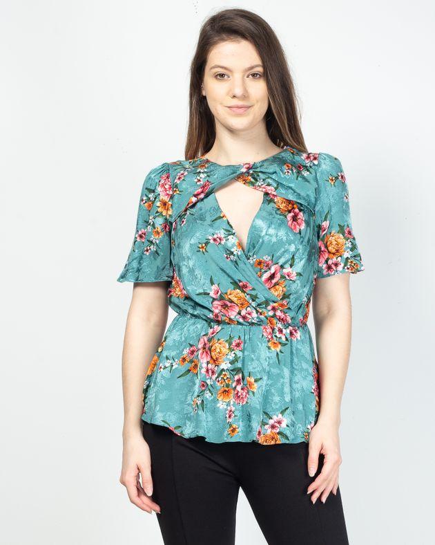 Bluza-cu-imprimeu-floral