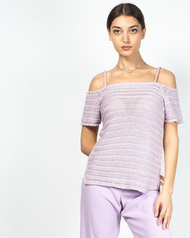 Tricou-tricotat-cu-maneca-scurta